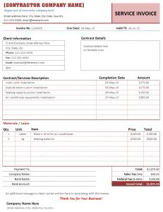 contractor-invoice-template